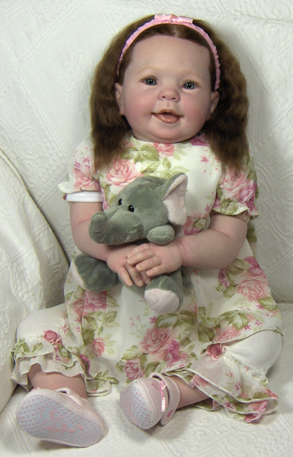 Reborn baby doll - Klik her for store fotos